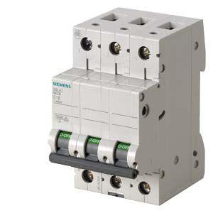 Модульні автоматичні вимикачі SIEMENS 5SL / 5SY / 5SP