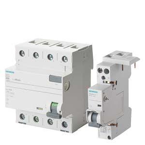 Пристрої захисного відключення та диференційні автомати захисту SIEMENS SENTRON
