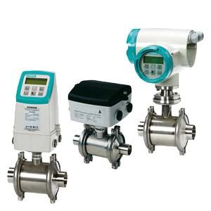 SITRANS F M MAG 1100 F Електромагнітні витратоміри для харчової промисловості