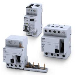Пристрої захисного відключення (ПЗВ) SIEMENS SENTRON 5SV / 5SM