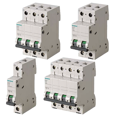 Модульні автоматичні вимикачі Сіменс 5SL для стандартних застосувань у житловому та нежитловому секторі