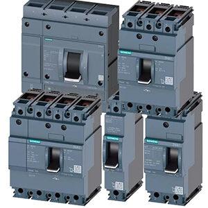 Модульні литі автоматичні вимикачі Siemens Sentron 3VA1