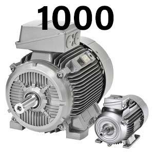 1000 об/хв – асинхронні електродвигуни Сіменс Сімотікс GP/SD