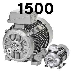 1500 об/хв – асинхронні електродвигуни Сіменс Сімотікс GP/SD