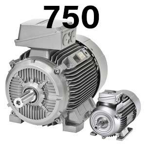 750 об/хв – асинхронні електродвигуни Сіменс Сімотікс GP/SD